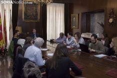 Imágenes de la Junta de Gobierno de hoy. Freddy Páez.