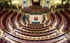 Imagen del hemiciclo del Congreso./PE