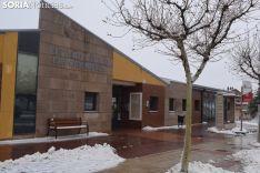 Centro cívico, en el que se prevé habilitar un espacio para mayores. Patxi Veramendi.
