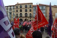Imágenes del 8-M en Soria.