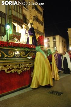 Una imagen de la procesión de este Martes Santo en la capital. /SN