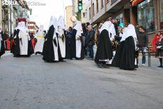 Una imagen de este Miércoles Santo en la capital soriana. /SN