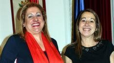 Yolanda de Gregorio (izda.) y Elena Collado.