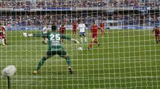 Guillermo marca, de penalti, en Tenerife. LaLiga