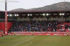 Afición zaragocista en Soria. Soria Notcias.