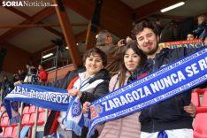 Afición zaragocista en Soria. Soria Noticias.