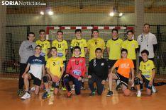 Cadete del BM Soria en el Polideportivo San Andrés. Bernat Díez.