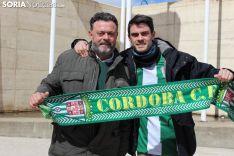 La afición cordobesa toma Soria. Bernat Díez.