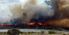 Imagen de un incendio forestal. /SN