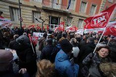 Un millar de personas exigen en Soria unas pensiones 'dignas'