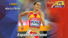 Marta Pérez, atleta soriana.