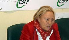 Reyes Martínez, presidenta de CSIF en Soria.