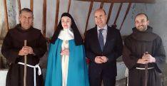 Alberto Blanco, Elena Ruiz, Jesús Manuel Alonso y Jesús Villaroya.
