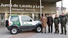 Uno de los nuevos vehículos para los agentes medioambientales.