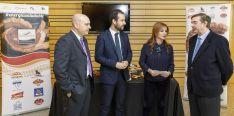 Juan José Delgado, Ángel Hernández, Silvia Clemente y Samuel Moreno. /Cortes CyL