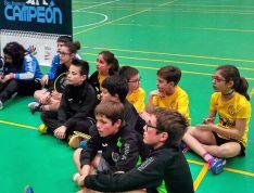 Jugadores del club en el programa 'Se busca campeón'.