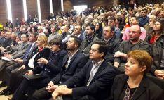 El auditorio, abarrotado en la apertura.
