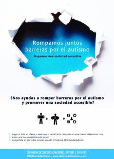 Cartel del Día Mundial del Autismo.