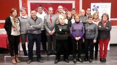 Delegados de la Hermandad en su reunión anual.