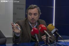 Mercedes Ciria y Jesús Mateo durante la rueda de prensa. /Freddy Páez