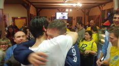 Foto 4 - El Río Duero celebra su clasificación automática para los Play-off