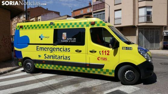 Una ambulancia en un servicio en la capital. /SN