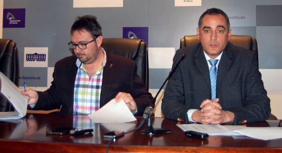 Pedro Casas (izda.) y Martín Navas. /Dip.