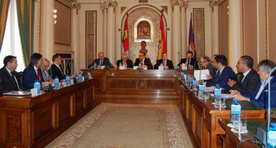Imagen de la reunión del Consorcio este jueves en el Palacio Provincial.