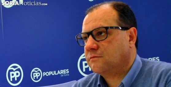 Pedro Antonio Heras, procurador del PP en las Cortes regionales. /SN