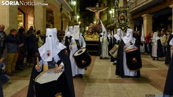 Una imagen de la Semana Santa en la capital. /SN