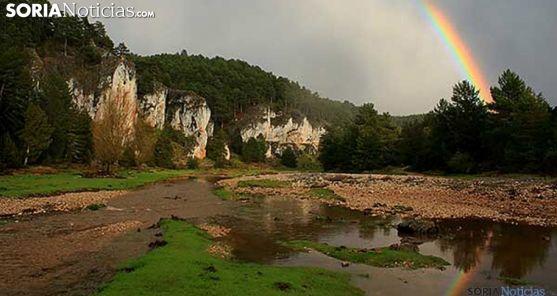 Una imagen de archivo del Cañón del Río Lobos. /SN