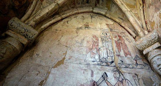 Una imagen del mural.