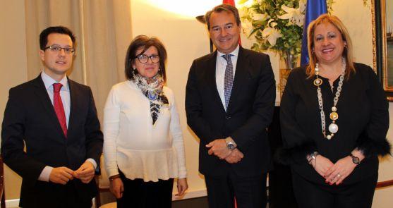 Cabezón, Angulo, Conde y De Gregorio este martes.