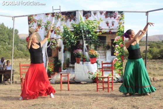Teatro en Tiermes. Soria Noticias.