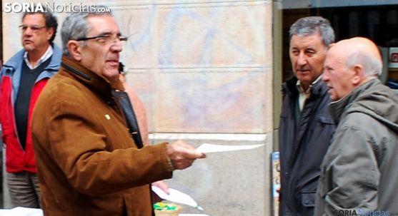 Fernando Ligero, responsable de la AECC en Soria. /SN