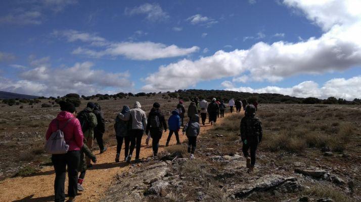 Imágenes de la primera ruta de Senderos del Duero 2018.