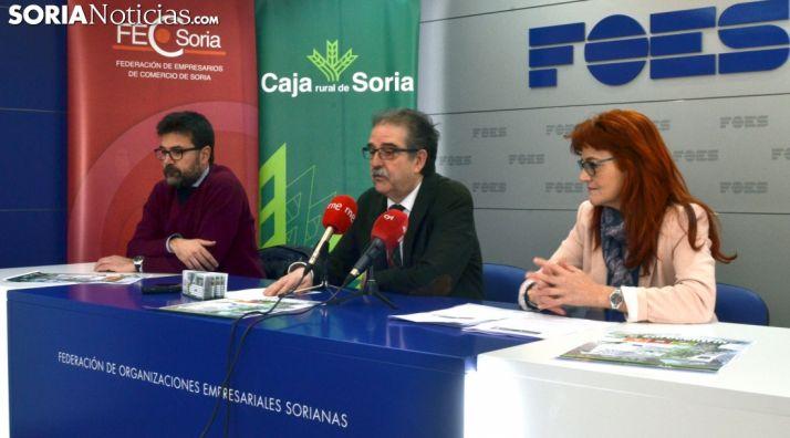 Ana Calvo, Jesús Muñoz y Eduardo Munilla. /SN
