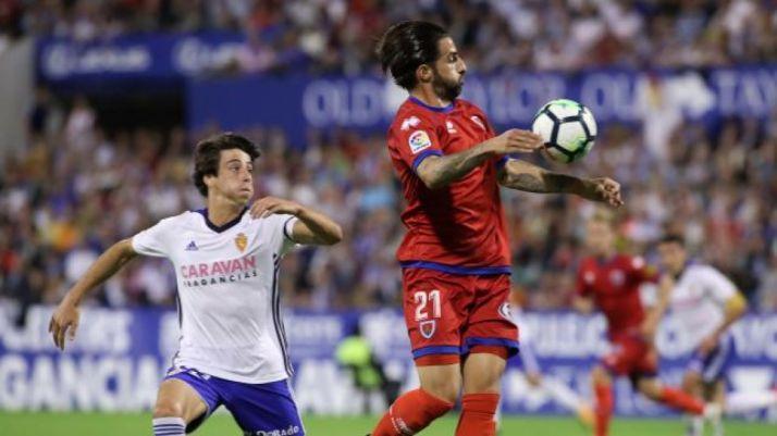 Real Zaragoza-CD Numancia en La Romareda. LaLiga.