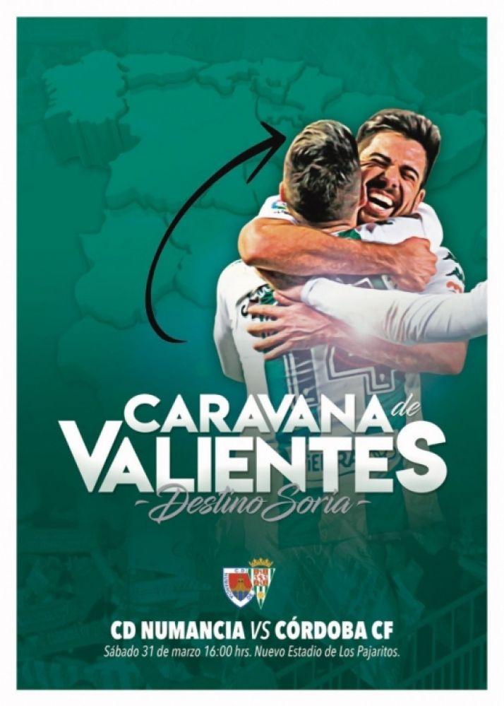 'Caravana de valientes'. Iniciativa del Córdoba CF.