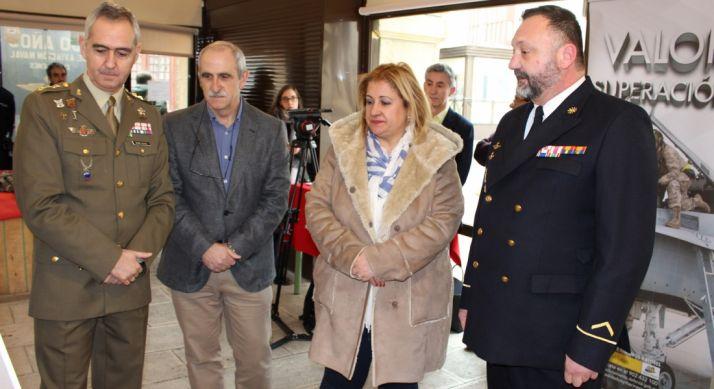 Mauro Velasco, Miguel Ángel Delgado, Yolanda de Gregorio y Santos García.