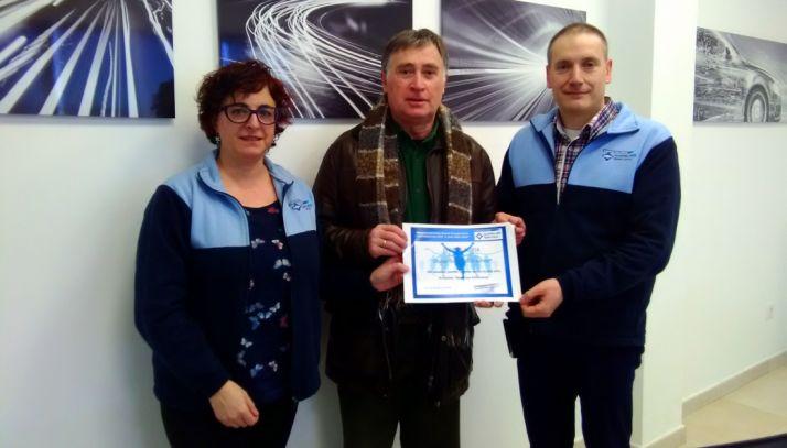 Foto 1 - Fadess recibe el apoyo económico de la firma Sumiriko AVS Spain