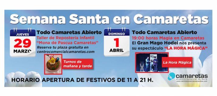 Foto 1 - Camaretas abre los festivos del 29 de marzo al 1 de abril