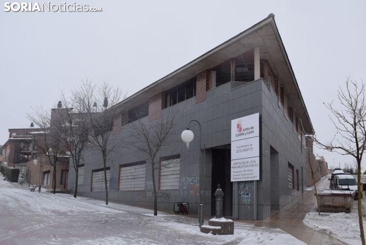 Edificio que albergará la nueva biblioteca y el centro joven. Patxi Veramendi.