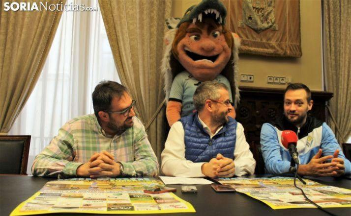 Presentación de Duerito en la Diputación de Soria. /Bernat Díez