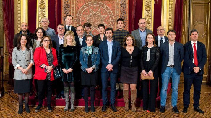 Representantes regionales en el I Encuentro de la Red Interautonómica de Memoria Histórica.