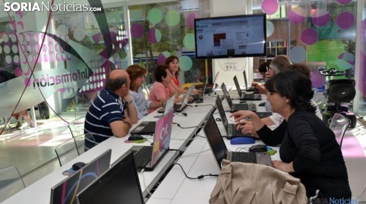 Telecentro de la Junta en Soria.