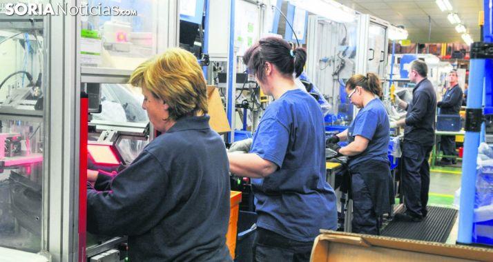 Cadena de montaje en una factoría de la provincia. /SN