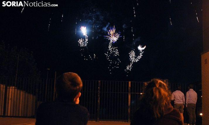 Imagen de los fuegos en las pasadas fiestas. /SN