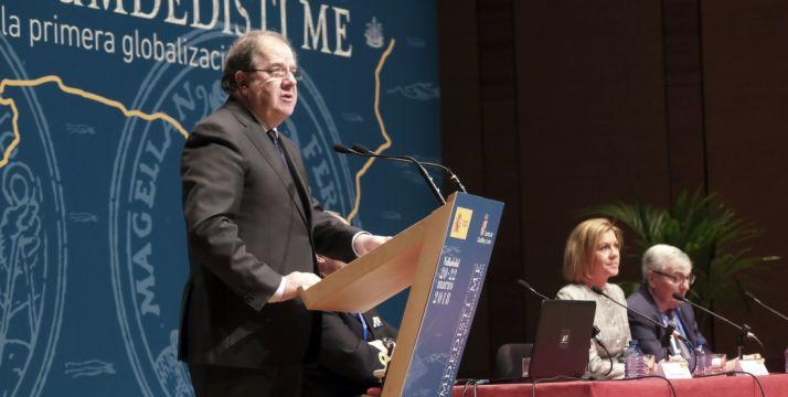 Herrera, en su intervención este martes en Valladolid.