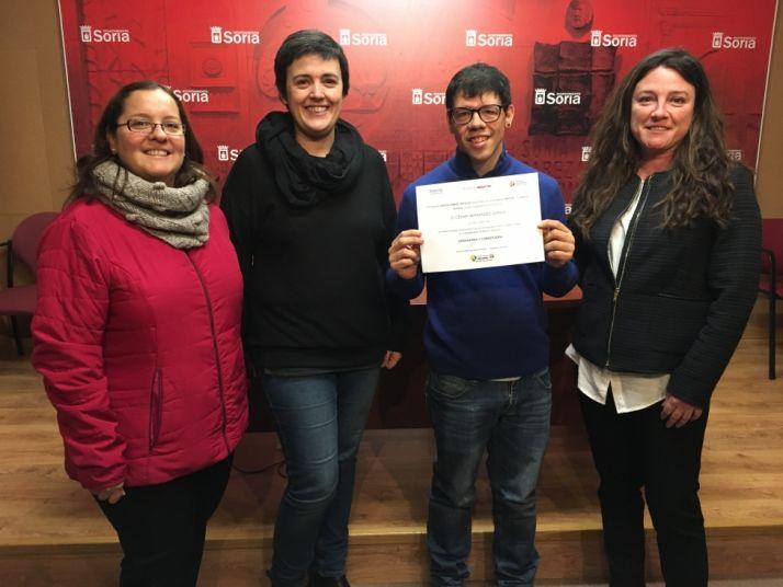 Reconocimiento hacia el Ayuntamiento de Soria. Ayuntamiento de Soria